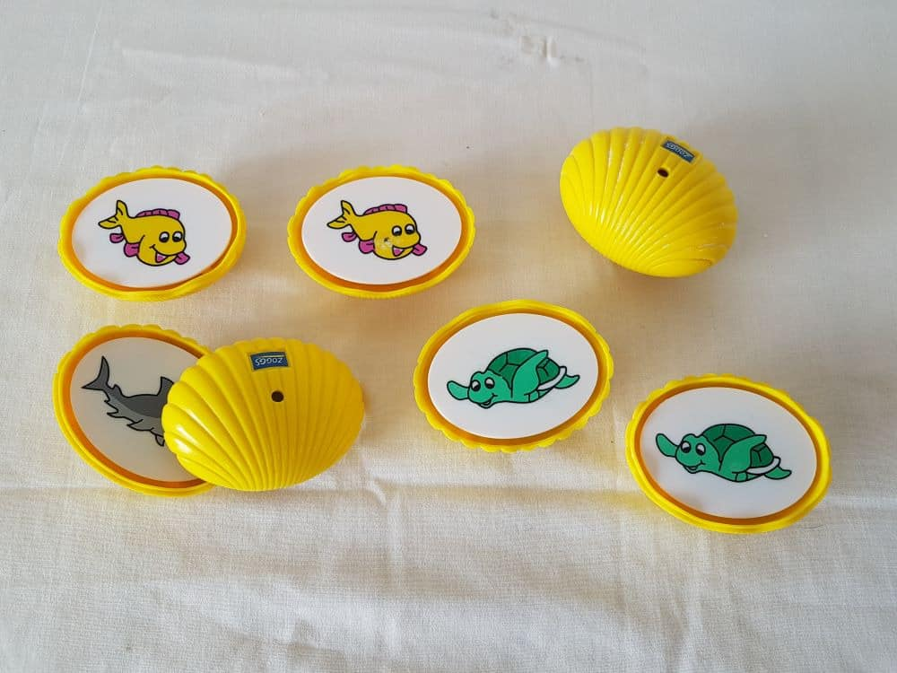 Match up Shell game