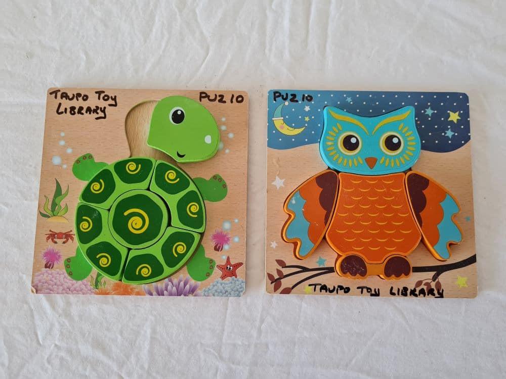 Owl & Turtle Puzzles