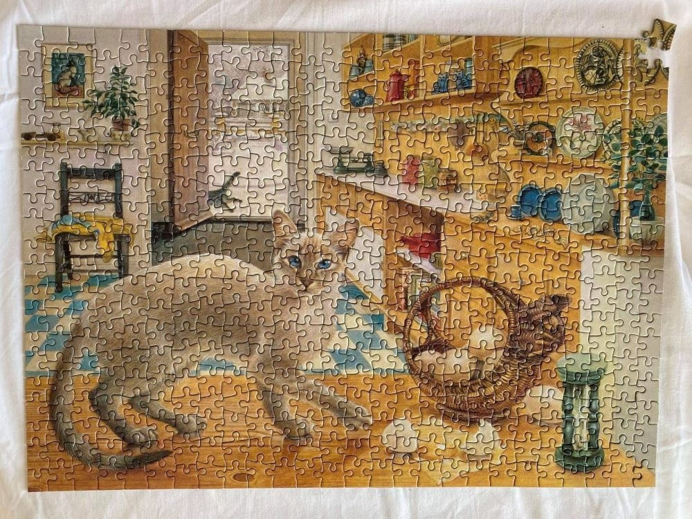 The Cats of Lesley Anne Ivory Puzzle photo
