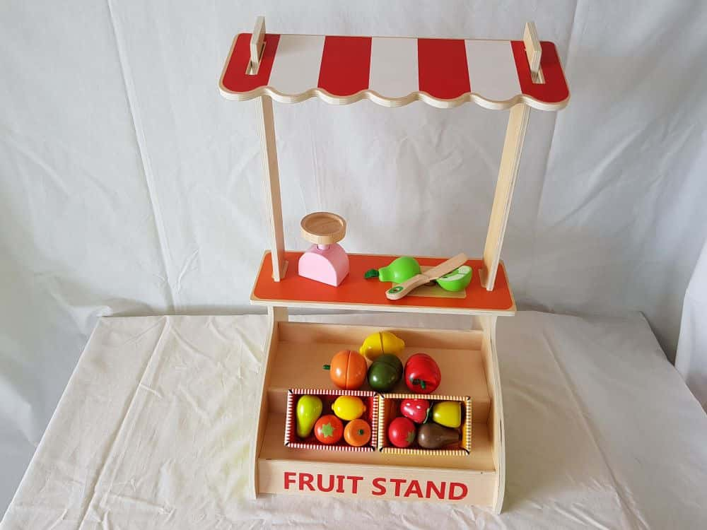 Wooden Fruit Stand