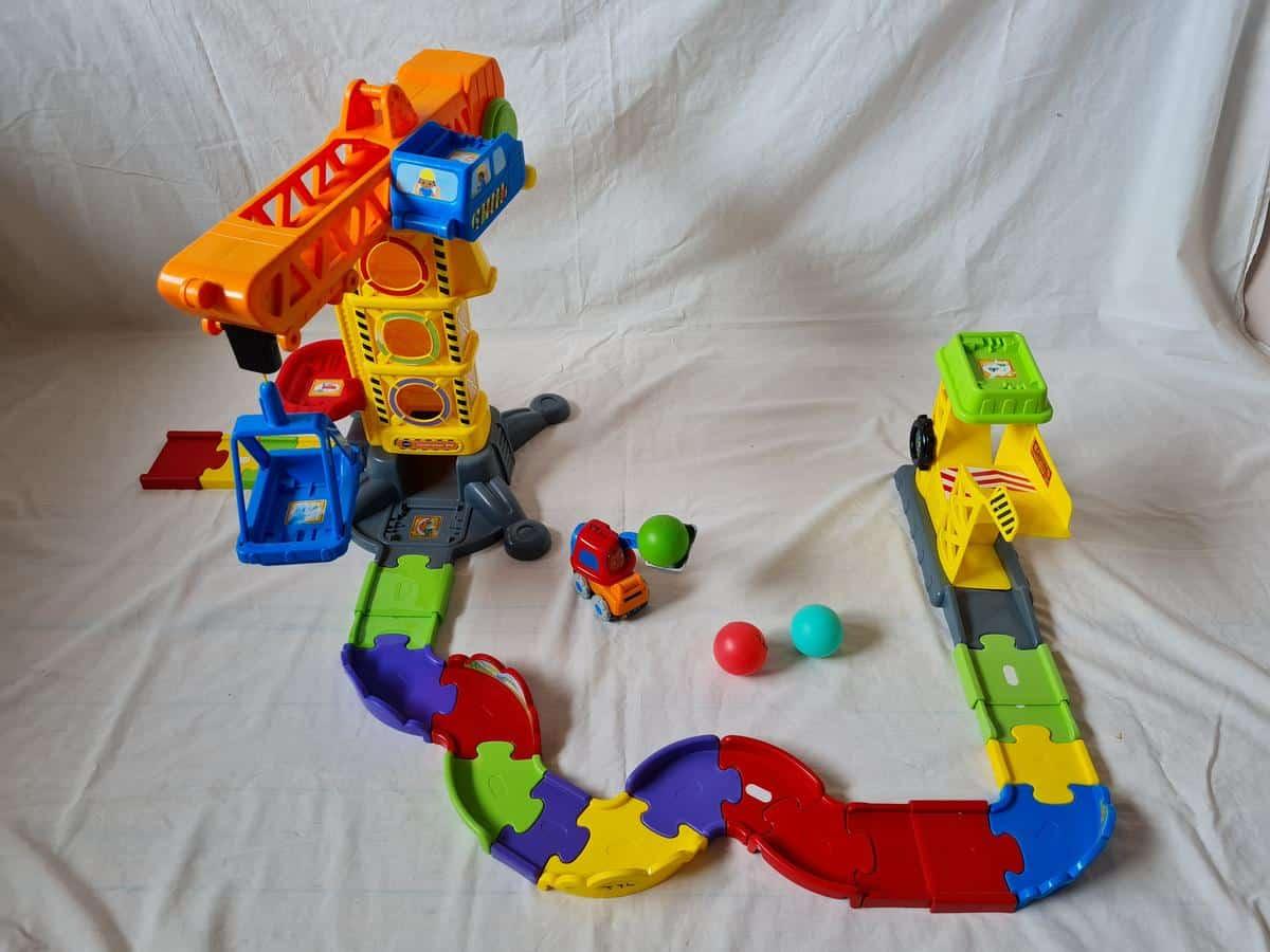 Toot Toot Construction Crane Set